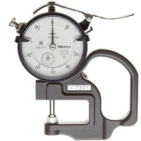 Đồng hồ đo độ dày 10mm Mitutoyo 7301